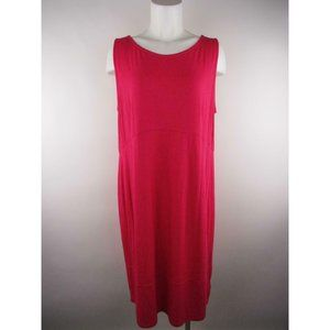 JM Collection NWT Solid Rayon Spandex Shift Dress